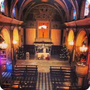 Interno della Chiesa di San Macario a Natale
